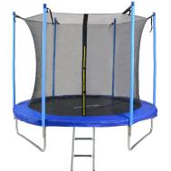 Батут Kindereo 10ft (304cm) синий с внутренней сеткой