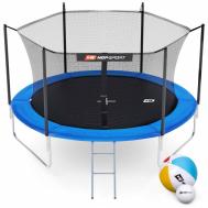 Батут Hop-Sport 10ft (305cm) синий с внутренней сеткой