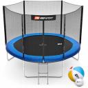 Батут Hop-Sport 10ft (305cm) синий с внешней сеткой