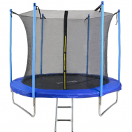 Батут Kindereo 8ft (245cm) синий с внутренней сеткой