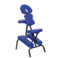 Массажный стул с сумкой голубой Relax HY-1002 blue