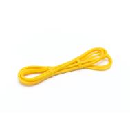 Резина для подтягиваний (лента сопротивления) жёлтый 2080*0,65*0,45см Ecofit MD1353 0.65sm