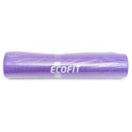 Коврик для фитнеса однослойный фиолетовый 1730*610*6мм Ecofit MD9010 6mm