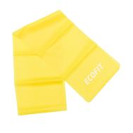 Эспандер ленточный TPE 1,8-2,7кг 1200*150*0.3мм желтый Ecofit MD1318