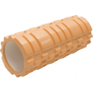 Роллер для занятий йогой и пилатесом 33*14см оранжевый Ecofit MDF001