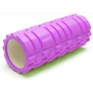 Роллер для занятий йогой и пилатесом 33*14см розовый Ecofit MDF001