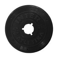 Диск черный 0,5 кг InterAtletika ST-520-1