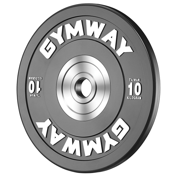 Диск бамперный 10 кг GymWay TPR-10K