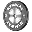 Диск бамперный 20 кг GymWay TPR-20K