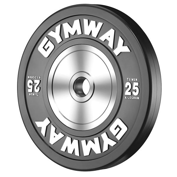 Диск бамперный 25 кг GymWay TPR-25K