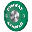 Диск бамперный 10 кг GymWay WPR-10K