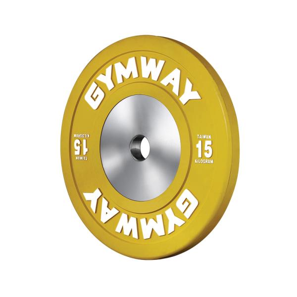 Диск бамперный 15 кг GymWay WPR-15K