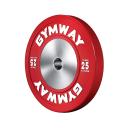 Диск бамперный 25 кг GymWay WPR-25K