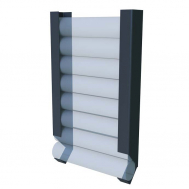 Настенная стойка для валиков InterAtletika KF307