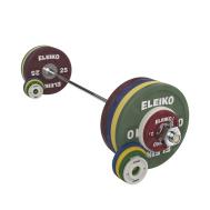 Комплект штанги 185 кг жен, цветной Eleiko Performance NxG 3061135