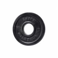 Диск обрезиненный 1,25 кг 52 мм ABS InterAtletika LCA022