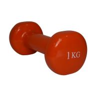 Гантель виниловая 1 кг Fitex MD2015-1V