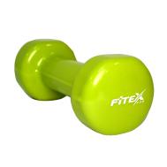 Гантель виниловая 2 кг Fitex MD2015-2V
