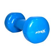 Гантель виниловая 3 кг Fitex MD2015-3V