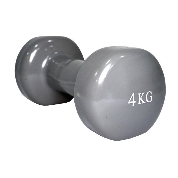Гантель виниловая 4 кг Fitex MD2015-4V