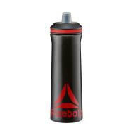 Бутылка для воды Reebok RABT-12005BK черный/красный 0,75л