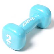 Гантель 2 кг голубая Reebok RAWT-11152