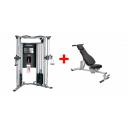 Силовая мультистанция Life Fitness G7 + скамья