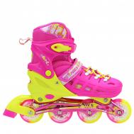 Роликовые коньки Nils Extreme NA1005A Size 39-42 Pink