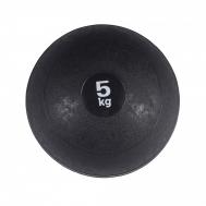 Слэмбол (медицинский мяч) для кроссфита SportVida Slam Ball 5 кг SV-HK0059 Black