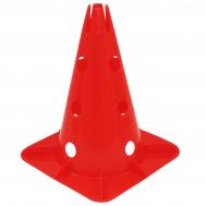 Конус-фишка спортивная для тренировок с отверстиями SportVida 30 см SV-HK0303