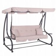 Качели-диван садовые с навесом Springos Venezia GS0006
