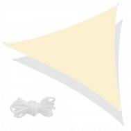 Тент-парус теневой для дома, сада и туризма Springos 5 x 5 x 5 м SN1013 Light Yellow