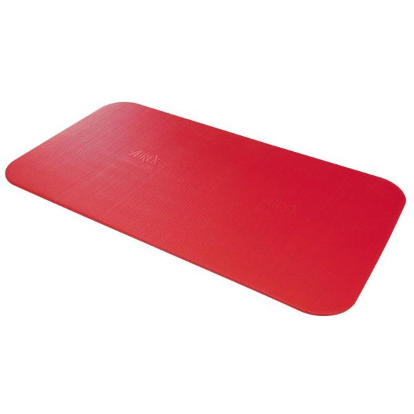 Гимнастический коврик AIREX Corona, 185x100x1,5 см, красный