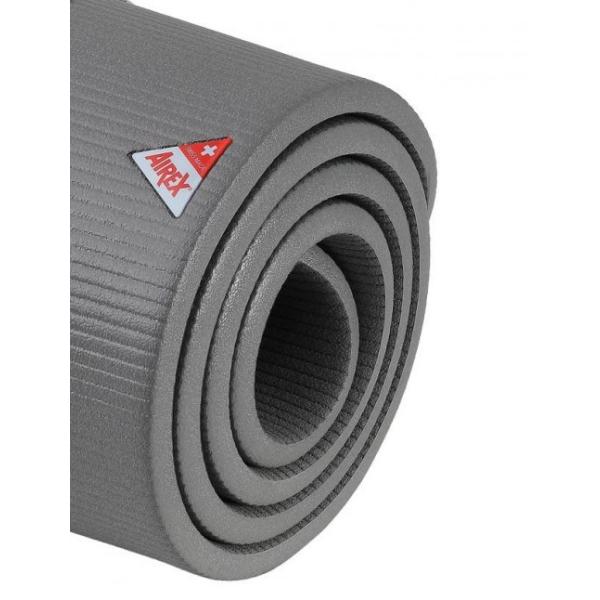Гимнастический коврик AIREX Corona, 200x100x1,5 см, серо-голубой