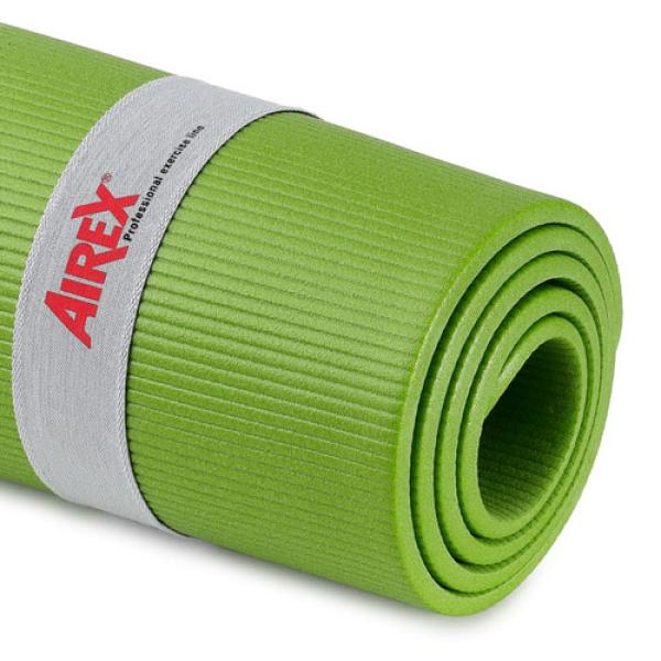 Гимнастический коврик AIREX Fitline-180, 180x58x1,0 см, киви