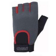 Перчатки Chiba FIT Grey/Red/Black 40416 M
