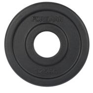 Диск обрезиненный олимпийский 1.25 кг Foreman RUBO-1.25KG