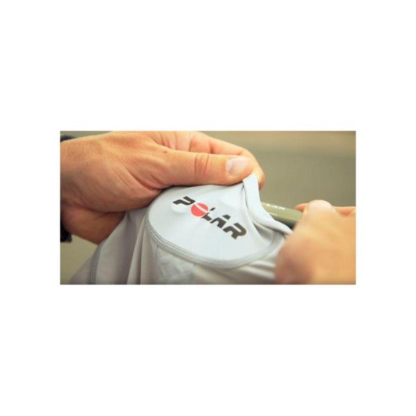 Майка компрессионная с электродами для приема пульса POLAR Team Pro Shirt, размер M