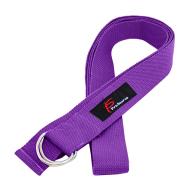 Ремень для йоги фиолетовый ProSource Metal D-Ring Yoga Strap PS-2015
