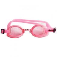 Очки для плавания чёрные Sprint Aquatics Deluxe Goggles SA-200 PK