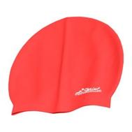 Шапочка для плавания силикон Sprint Aquatics Silicone Swim Cap SA-390 RD