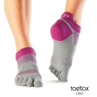 Носки для спорта орхидея L Toesox Lolo Sport PD1 841090123916