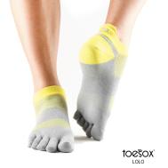 Носки для спорта светло-серые L Toesox Lolo Sport PD2 811105020752