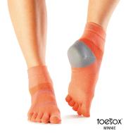 Носки для спорта папайя M Toesox Sport Lolo PD4 841090124791