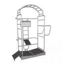 Тренажер для растяжки Oemmebi Fitness Stretch Rack IRGL1602