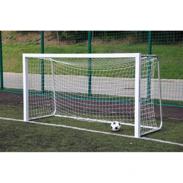 Алюминиевые футбольные ворота 3x1,55 м переносные Polsport 9425.3/1.55