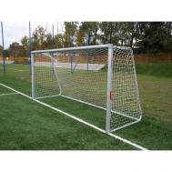 Алюминиевые футбольные ворота 3x2 м стационарные Polsport 9438BT