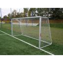 Алюминиевые футбольные ворота FIFA 7,32x2,44 м стационарные Polsport 9451BT