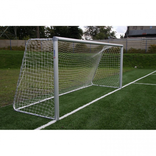 Алюминиевые футбольные ворота FIFA 5x2 м переносные Polsport PL-9407