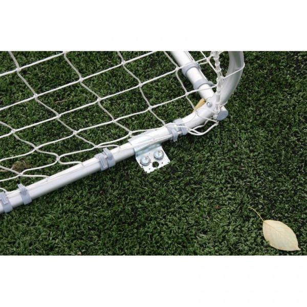 Алюминиевые футбольные ворота FIFA 7,32x2,44 м переносные Polsport PL-9413